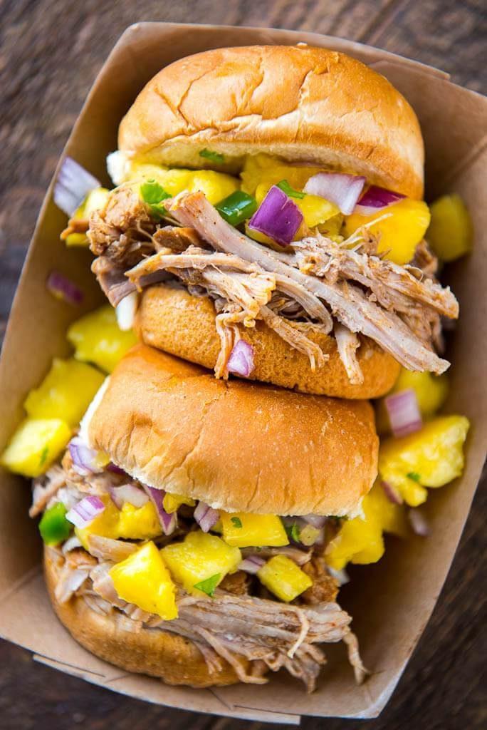 Food Photography of Caribbean Jerk Chicken
