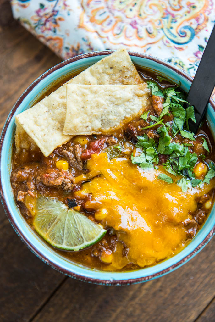 Slow Cooker Taco Soup Photo